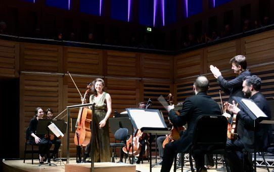 Natalie Clein and Aurora Orchestra  premiere